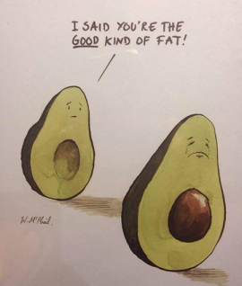 avocados - the good kind of fat